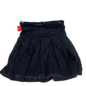 NWT Isaac Mizrahi for Target Black Skirt